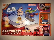 Hexbug Nitro Circus Capture It! Air bound Stunt Toys 2 figures Ages 8-16