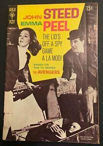 Gold Key John STEED  Emma PEEL The AVENGERS #1 1968 Patrick McNee / Diana Rigg