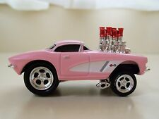 MUSCLE MACHINES  (1962) '62 CORVETTE GASSER - FUEL INJECTED 1/64 DIECAST (LOOSE)