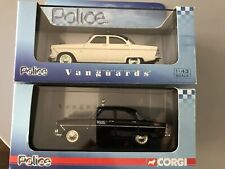 2 X VANGUARDS LLEDO FORD ZEPHYR MKII POLICE CARS - DUTCH AND NEW ZEALAND NEW!