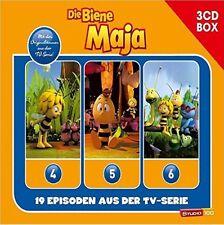 3 CDs * DIE BIENE MAJA (CGI) - 3-CD HÖRSPIEL BOX VOL. 2 ZUR TV-SERIE # NEU OVP !