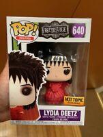 Lydia Deetz Wedding Dress Beetlejuice Funko Pop Vinyl New in Mint Box + P/P