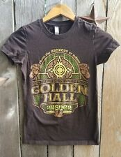 New The Lord of the Rings Women's T-Shirt Size Small Shirt Rohan Pilsner Beer