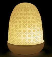 LLADRO PORCELAIN WICKER DOME LAMP