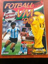 Norwegian Semic Complete World Cup Italia 90 album 1990 Very Rare Edition