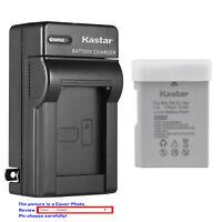 Kastar Battery Slim Charger for Nikon EN-EL14a MH-24 & Nikon D5100 DSLR Camera