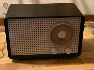 Braun Röhrenradio SK1 Kleinsuper UKW Röhrenradio leichter Defekt