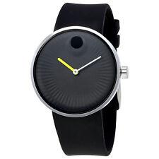Movado Edge Black Aluminum Dial Mens Watch 3680003