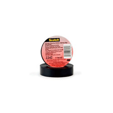 """New listing 3Mâ""""¢ Linerless Electrical Rubber Tape 2242, 2 in x 15 ft, 1 in core, Black"""