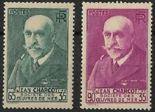 FRANCE - EFFIGIES DE CHARCOT N° 77 et N° 377 A NEUF *