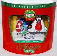 NIB Hot Wheels Holiday Millennium Edition Set 3 of 3