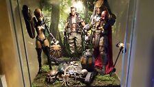 """Dschungel Boden & Hintergrund Diorama für 6"""" 12"""" Action Figur IKEA DETOLF Hot Toys"""