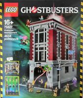 Lego 75827 Ghostbusters Headquarter Feuerwehr-Hauptquartier  RAR NEW SEALED NEU