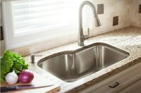 "Franke FBSLD904-18BX 33"" Basin Undermount/Drop In Stainless Steel Kitchen Sink"