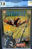 STRANGE ADVENTURES #205 CGC 7.0 1ST ADAM STRANGE IN SERIES