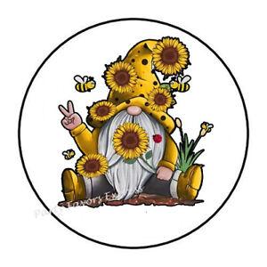 Sticker flowers arosoire sunflowers 71x50cm