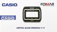 VINTAGE GLASS CASIO F-11 NOS