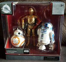 Disney Star Wars Elite Series Die Cast Droid Set R2D2 C3PO BB8 NEW