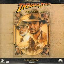 Indiana Jones and the Last Crusade Letterbox LaserDisc Free Shipping