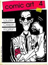 Comic Art nº 4/1981 Lauzier/Crespin/Krigstein entrevista