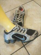 Nike shox 9.5 womens brown/silver