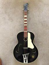 More details for hoyer guitar:vintage 1950s:archtop:acoustic:herr im frack:excellent condition.