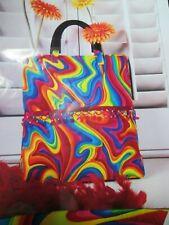 Wearable Art Tote Bag Purse pattern - 1970's SWIRL
