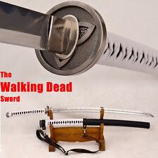 Japanese Samurai Katana Walking Dead Zombie Michonne's Sword Kobuse Blade Sharp