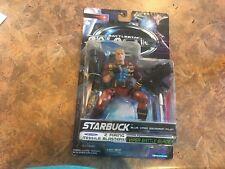 Battlestar Galactica  Starbuck Blue Viper Squadron Pilot action figure nip