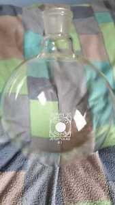 Einhalsrundkolben Jena Glas Schott&Gen Mainz 6 Liter