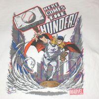 New York Mets Shirt Noah Syndergaard Marvel Thor XL SGA Here Comes the Thunder