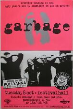 GARBAGE/POLLYANNA 1998 AUSTRALIAN CONCERT POSTER-Group Making Goggles With Hands