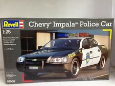 REVELL 1:25 KIT AUTO CHEVY IMPALA POLICE CAR ART. 07068