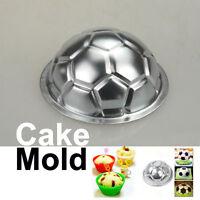 DIY Non-toxic Aluminum Birthday Cake Baking Jello Chocolate Football Pan Mold