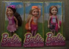 BARBIE CHELSEA & FRIENDS COSTUME PARTY 3 DOLLS  *NEW*
