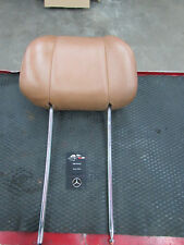 Mercedes C126 380 420 500 560 SEC Coupe Tan/Palomino Leather Front Headrest