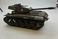 Heng Long RC Battle Tank 1/16 Scale Real Action UNTESTED NO REMOTE