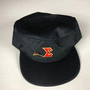 Delta Sigma Fraternity Hat VTG Snapback Cap Greek Letters College University