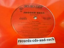 """JAGGED EDGE-BALLADS( HEARTBREAK/LETS GET MARRIED/PROMISE/+4 MORE)-NEW SEALED 12"""""""