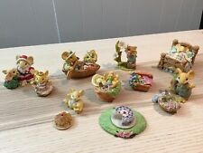 Ganz Little Cheesers Rare Lot of 13 Vintage Collectible Figurines
