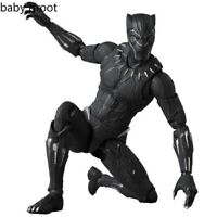 Marvel Avengers Black Panther articulated PVC Collectible Joints Moveable Action