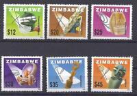 ZIMBABWE, 2002, LOCAL CRAFTS, SG 1073-8, MNH, SET OF 6