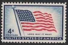 "Scott 1094- 48 Star U.S. Flag, ""Long May it Wave""- MNH 4c 1957- unused mint"