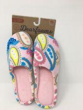 Dearfoams Womens Paisley Slip On Slippers Sm40480 Sz Xl (11-12) - Nwt