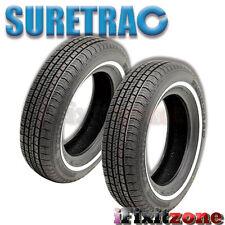 2 Suretrac Power Touring 205/70R15 95S White Wall All Season Performance Tires