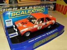 Scalextric C3483 Ford Escort MKII 'Roger Clark 1st Welsh Rally 75' - Brand New.