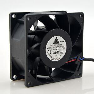 Delta FFB0812EHE 8CM 80MM 80*80*38MM 8038 12V 1.35A Need double ball bearing fan