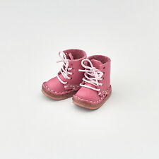 Neo Blythe Licca Pullip Azone Doll Leather Shoes - Pink