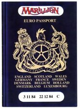 MARILLION Concert Program Reel to Real Tour Euro Passport 1984