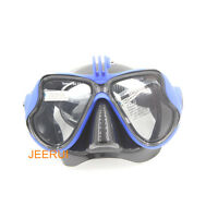 Snorkeling Half Face Mask Goggles Water Diving Scuba Snorkel For Gopro hero 3+ 4